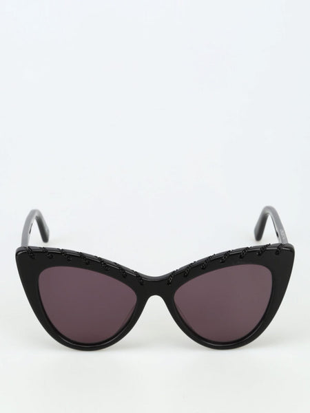 Stella McCartney Cat Eye Sunglasses - Black