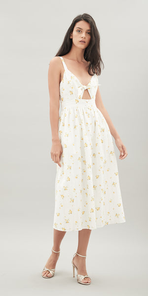 Maddie Linen Dress