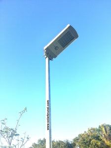 Integrated Street Light QST-P10 - 2 units/lot - Everything Solar - 7
