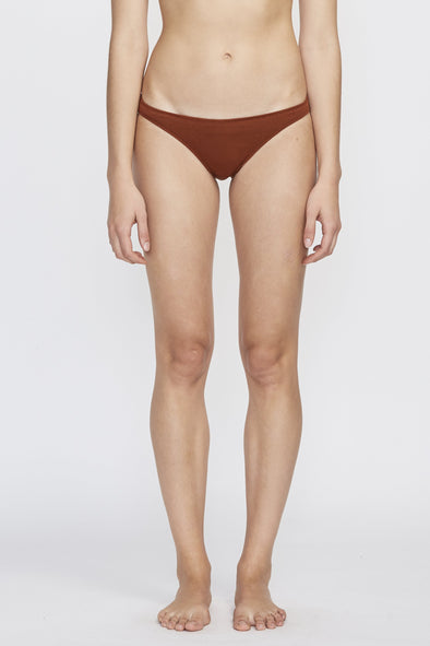 PANSY Low Rise Brief . Rust