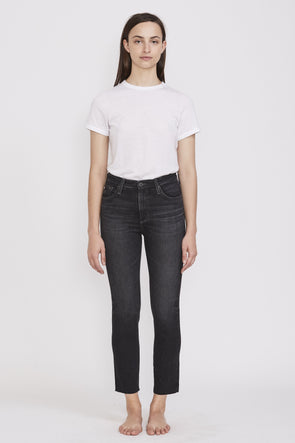 AG Isabelle High Rise Straight Crop . 5 Years Reserve - Maplestore