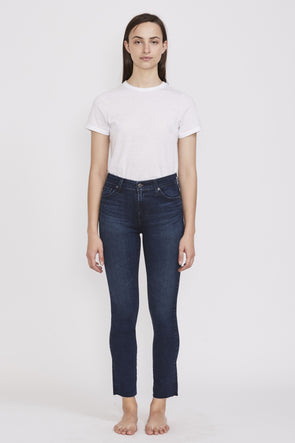 AG Mari High Rise Slim Straight . Valiant - Maplestore