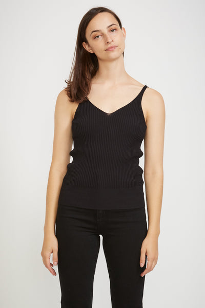 Moves Knit Top Black - Maplestore