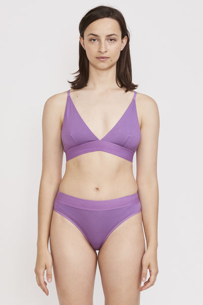 Triangle Bra Chay Purple - Maplestore