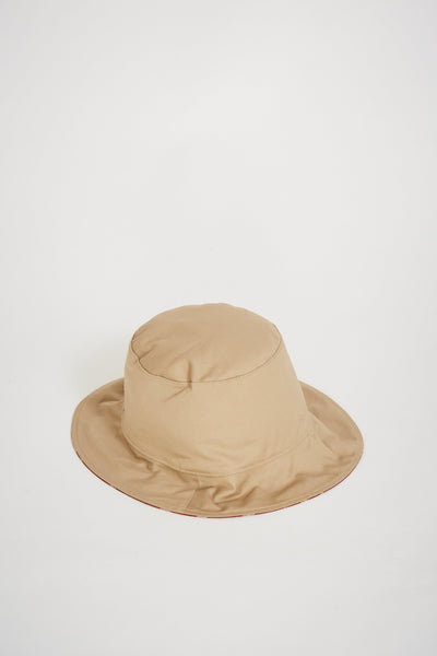 Reversible Bucket Hat Tan/Clay Ikat - Maplestore