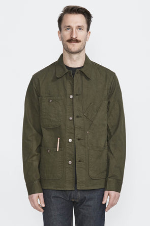 TELLASON Coverall Jacket . Green - Maplestore