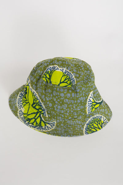 Batik Bucket Hat . Green - Maplestore