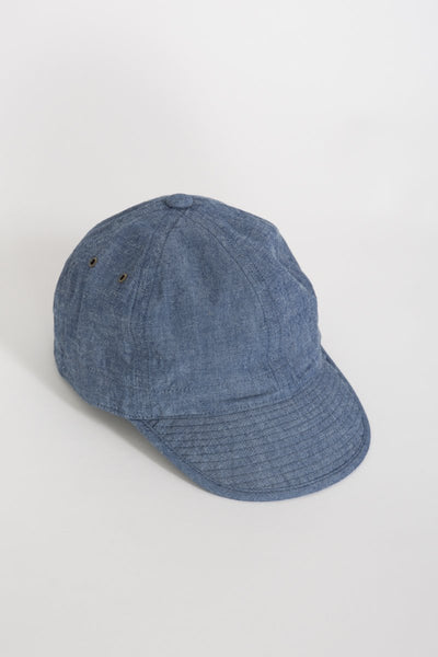 Chambray Army Cap . Indigo - Maplestore