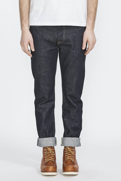 TELLASON Elgin Mid Rise . Slim Tapered 14.75 Oz - Maplestore