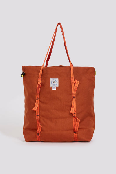 Climb Tote . Clay With Orange Webbing - Maplestore