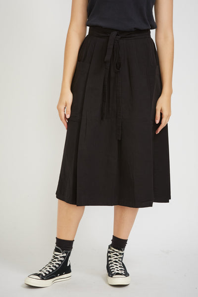 Prairy Skirt Ripstop Black - Maplestore