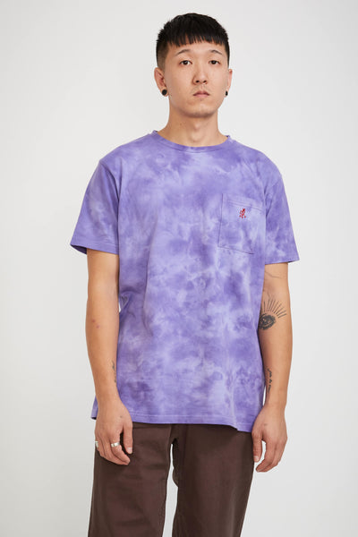 One Point Tee Tie Dye Purple - Maplestore