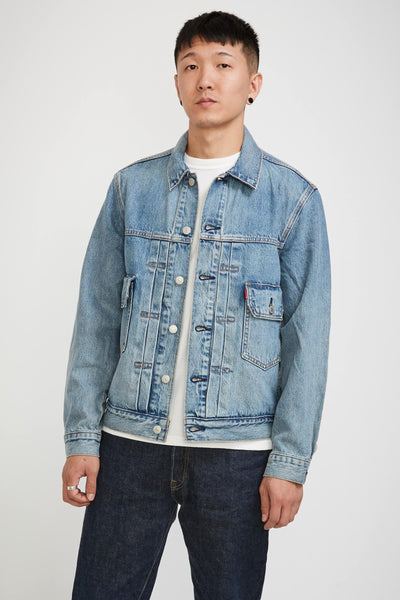 Contemporary Type 2 Trucker Jacket Seen The Light - Maplestore