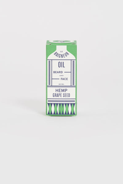 Beard and Face Oil Hemp Grapeseed - Maplestore