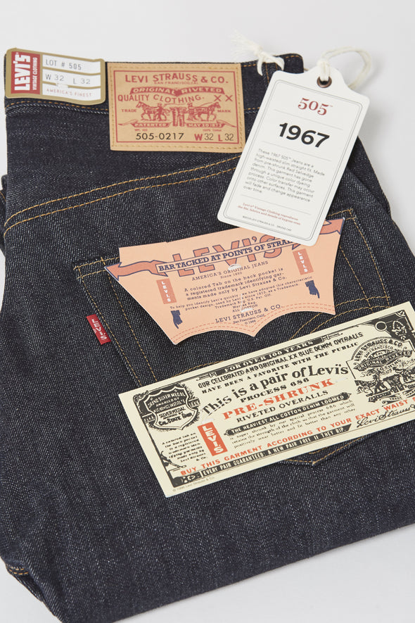 LEVIS VINTAGE CLOTHING 1967 505 . Rigid - Maplestore
