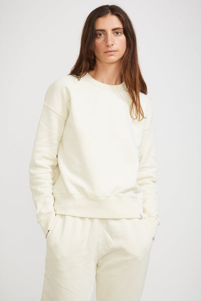 GOOD BASICS | Women's Sweatshirt Oat - Maplestore
