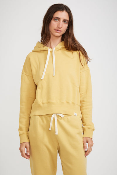 GOOD BASICS | Women's Hoodie Corn - Maplestore