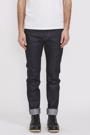 NAKED AND FAMOUS Super Guy . Nightshade Stretch Indigo Selvedge - Maplestore