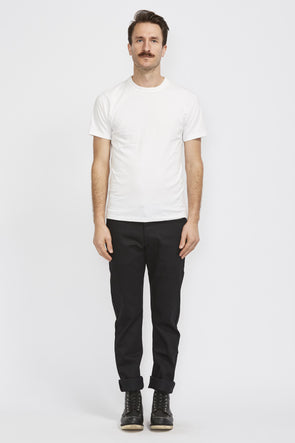 NAKED AND FAMOUS Weird Guy . Black Power Stretch - Maplestore