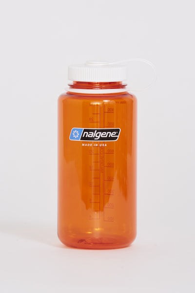 Wide Mouth Tritan Bottle 1000ml Orange/White - Maplestore