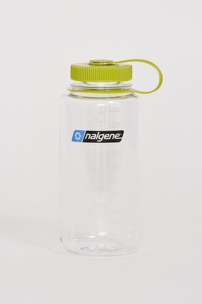 Wide Mouth Tritan Bottle 1000ml Clear/Green - Maplestore