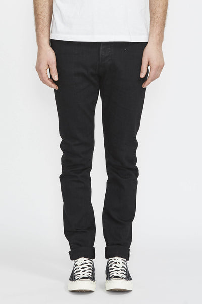 Lou Slim . Black Selvedge - Maplestore