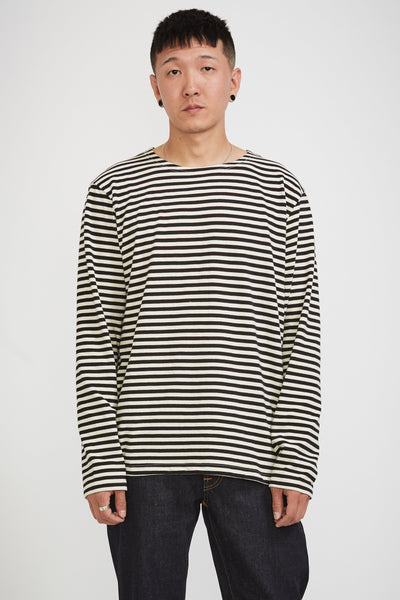 Charles Breton Stripe Off White Black - Maplestore