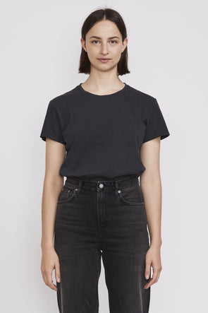 Nudie Lisa Tee Antracite