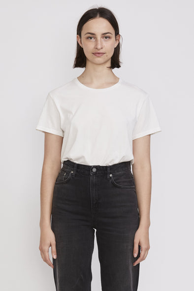 Nudie Lisa Tee Off White