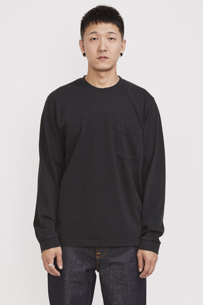 Rudi Heavy Pocket Tee Black - Maplestore