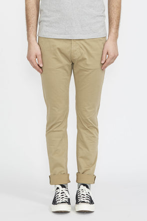 NUDIE Slim Adam . Beige - Maplestore