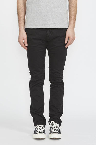 NUDIE Slim Adam . Black