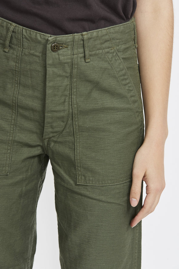 ORSLOW Army Fatigue Pant . Green - Maplestore