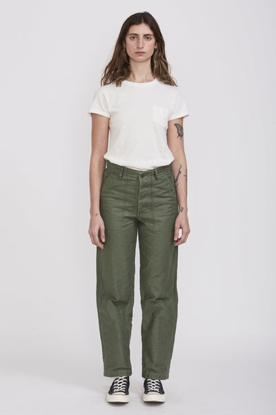 U.S Army Fatigue Pants . Green Used - Maplestore