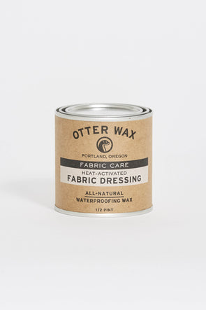 OTTER WAX Fabric Dressing . 8Oz