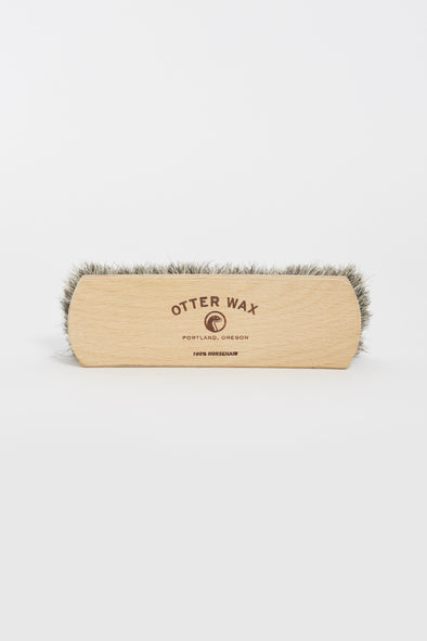 OTTER WAX Horsehair Shoe Brush - Maplestore