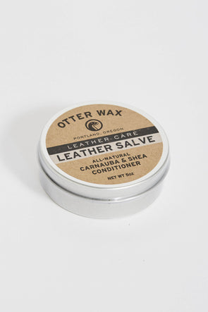 OTTER WAX Leather Salve . 5Oz