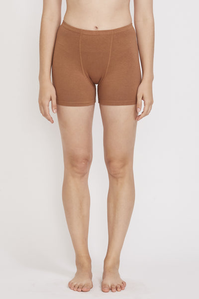 Stretch Shorts Almond - Maplestore