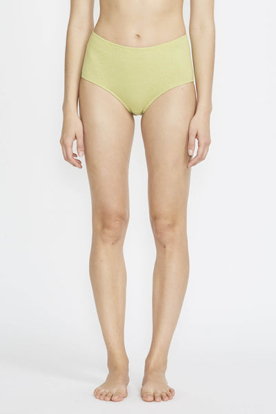 High Rise Brief Avocado - Maplestore