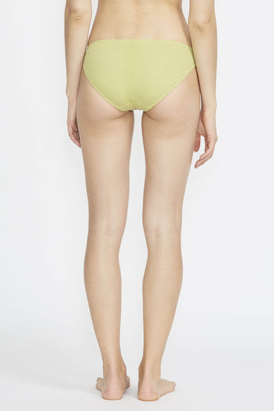 PANSY Low Rise Brief . Avocado
