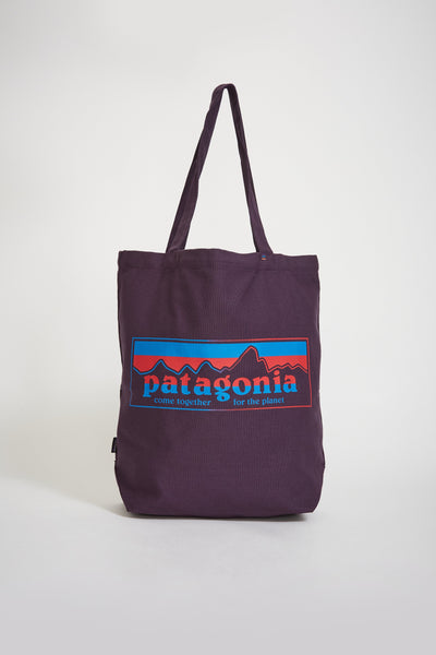 Market Tote Together For The Planet Logo Piton Purple - Maplestore