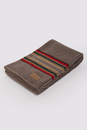 PENDLETON Yakima Twin Blanket With Carrier . Mineral Umber