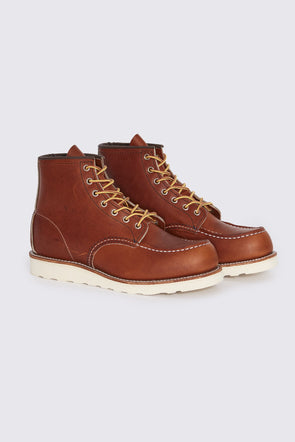 RED WING Classic Moc Boot . Oro Legacy Leather - Maplestore