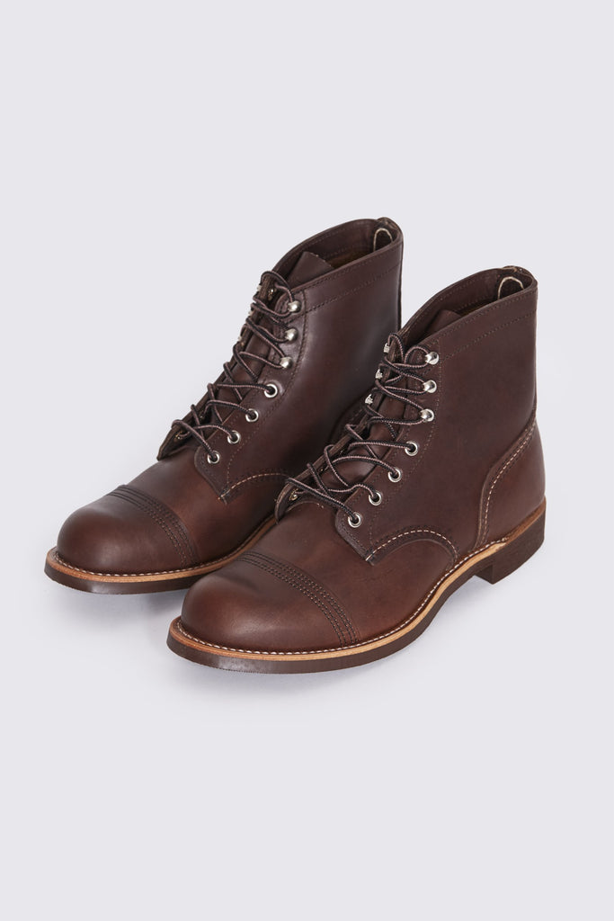 18d67a89c61 RED WING Iron Ranger . Amber