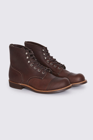 RED WING Iron Ranger . Amber