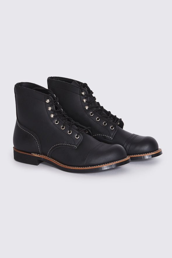 RED WING Iron Ranger . Black Harness Leather - Maplestore