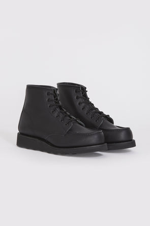RED WING Womens Classic Moc Boot . Black - Maplestore