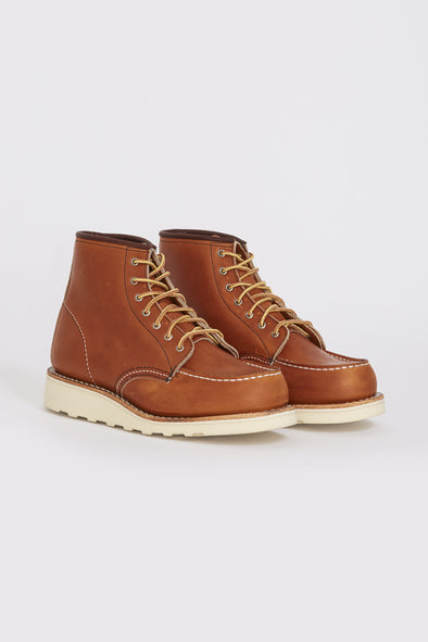 RED WING Womens Classic Moc Toe . Oro Legacy - Maplestore