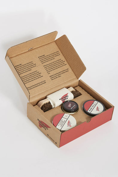 Red Wing Care pack