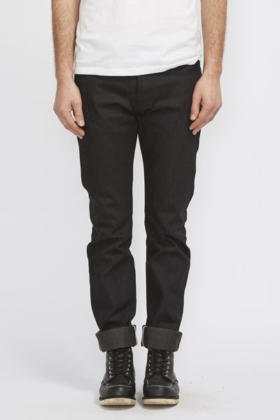 Stanton Stealth 15Oz Slim Straight Jean . Black - Maplestore